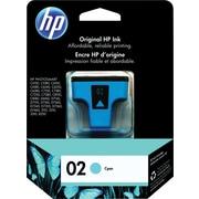 HP – Cartouche d'encre cyan 02 (C8771WC)
