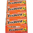 Trident® Sugar-Free Gum, Tropical Twist, 12 Packs/Box