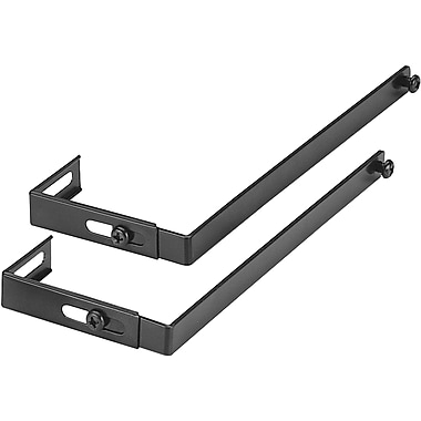 dps by Staples Verti-Go Cubicle Accessories Universal Hanger Brackets, Black