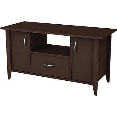 South Shore™ Element Loft TV Stand, Chocolate