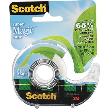 Scotch™ - Ruban Scotch Magic, 19 mm x 15,2 m, paq./1