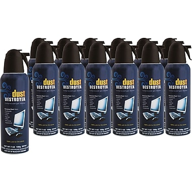 Dust Destroyer Duster  7oz., 12/Pack