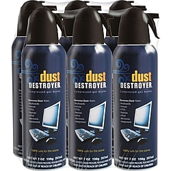 6-Pack Dust Destroyer Duster, 7oz. (5007526)