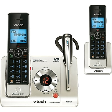 VTech LS6475 DECT 6.0 Cordless Telephone with Talking Caller ID and Digital Answering System