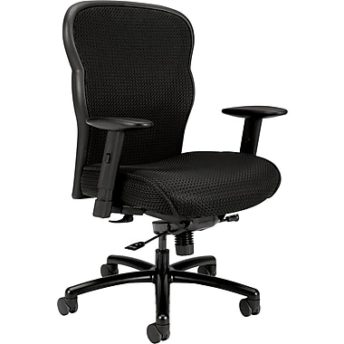 basyx by HON VL705 Big & Tall Mesh Task Chair, Black
