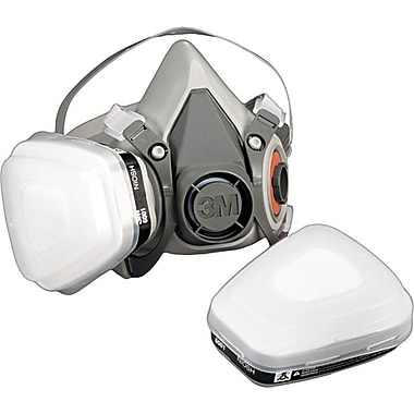 3M Half Facepiece Paint Spray/Pesticide Respirator, Small