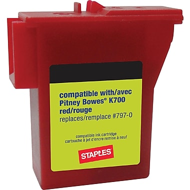 Staples K700 Postage Meter Ink Cartridge for Mailstation™ Series Meters (SIP-K700-CC)