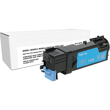 Sustainable Earth by Staples Remanufactured Cyan Toner Cartridge, Dell 1320, High Yield
