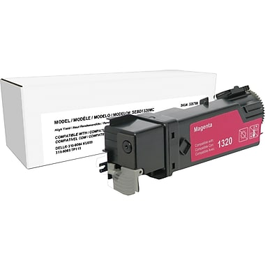 Staples™ Remanufactured Magenta Toner Cartridge, Dell 1320, High Yield