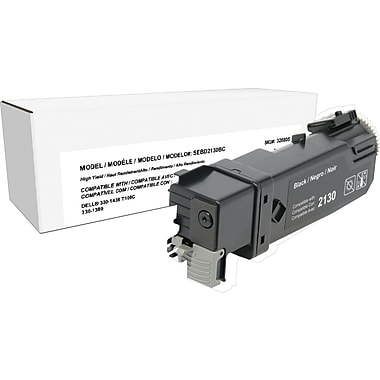 Staples™ Remanufactured Black Toner Cartridge, Dell 2130 (330-1436, T106C), High Yield