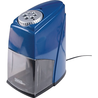 Staples® ClassMate Electric Pencil Sharpener, Heavy-Duty, Blue
