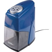 STAPLES® HEAVY DUTY 6-HOLE ELECTRIC PENCIL SHARPENER, BLUE (21833)