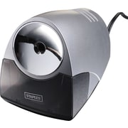 Staples Power Pro Electric Pencil Sharpener, Medium-Duty, Gray (21835)