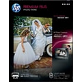 HP Premium Plus Photo  Paper, 8 1/2in. x 11in., Soft Gloss, 50/Pack