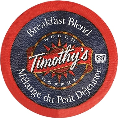 Timothy's Breakfast Blend K-Cup Refills