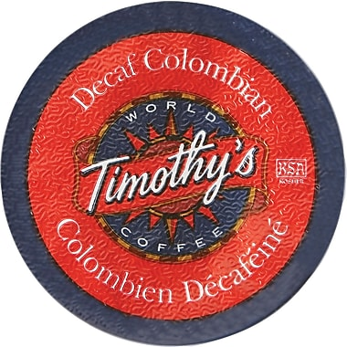 Timothy's Colombian Decaf K-Cup Refills