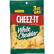 Sunshine® Cheez-It® Crackers, White Cheddar, 3 oz. Bags, 6 Bags/Box