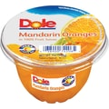 Dole® Mandrin Orange Fruit Cups, 4 oz. Cups, 12 Cups/Pack