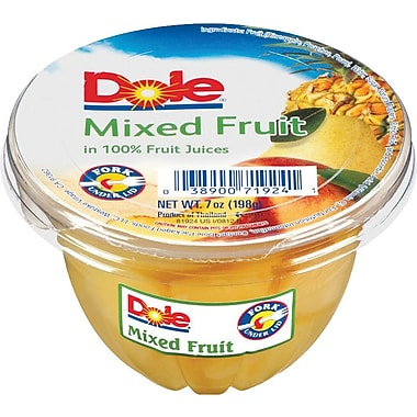 Dole® Fruit Cups, 12 Cups/Pack
