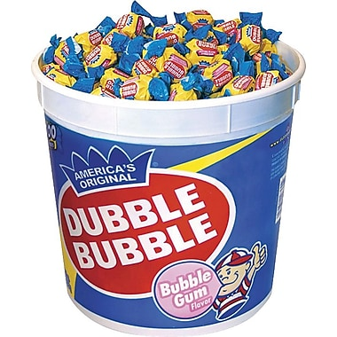 Dubble Bubble, Bubble Gum  Original Twist, 300 Pieces/Box