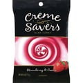 Wrigley Creme Savers, Strawberry Creme, 6 oz. Bag