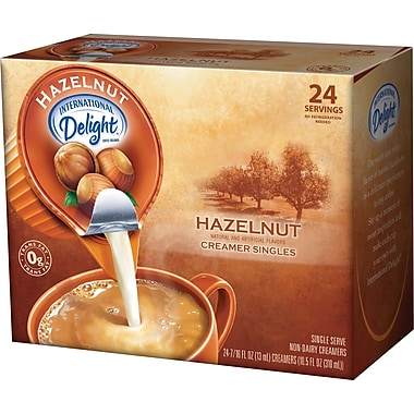 International Delight® Liquid Hazelnut Creamer Cups, 24/Box