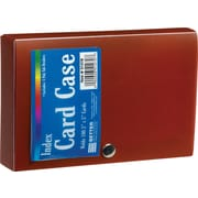 Staples® Index Card Case, Assorted Colors, Each