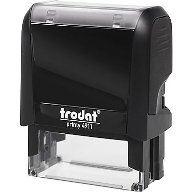 Trodat® Printy 4911 Climate Neutral Self-Inking Stamp - RECEIVED, with Window