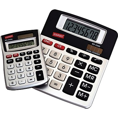 Staples® Calculator Dual Pack
