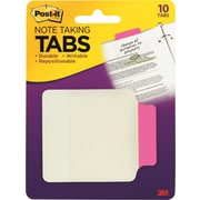 "Post-it® 2-3/4"" x 3-3/8"" Assorted Color Durable Note-Taking Tabs"