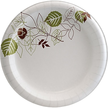 Dixie® Pathways™ Heavyweight Paper Plates, 8 1/2in., 125/Pack