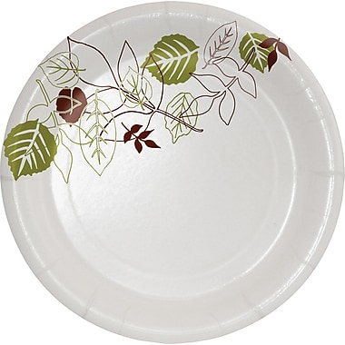 Dixie® Pathways™ Medium Weight Paper Plates, 5 7/8in., 500/Case