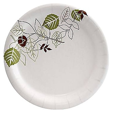 Dixie® Pathways™ Medium Weight Paper Plates, 6 7/8in., 125/Pack