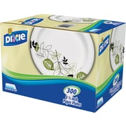 Dixie® Pathways™ Medium Weight Paper Plates with Dispenser Box, 8 1/2, 300/Box