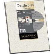 Southworth® Create Your Own Certificate Paper with CD, Ivory