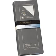 SOUTHWORTH® Granite Envelopes, #, 24 lb., Granite Finish, Gray, 50/Box