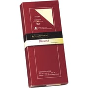 SOUTHWORTH® 0% Cotton Resume Envelopes, #, 24 lb., Wove Finish, Ivory, 50/Box