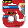 Scotch® Removable Poster Tape, 3/4in. x 150in., 1in. Core