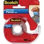 Scotch Removable Poster Tape, 3/4 x 150, 1