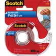 "Scotch® Removable Poster Tape, 3/4"" x 150"", 1"" Core"