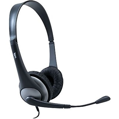 Cyber Acoustics AC-204 Stereo Headset and Boom Mic