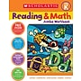 Scholastic Reading & Math Jumbo Workbook Grade PreK