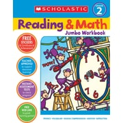 Scholastic Reading & Math Jumbo Workbook Grade 2
