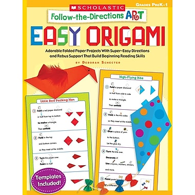 Scholastic Follow the Directions Art Easy Origami
