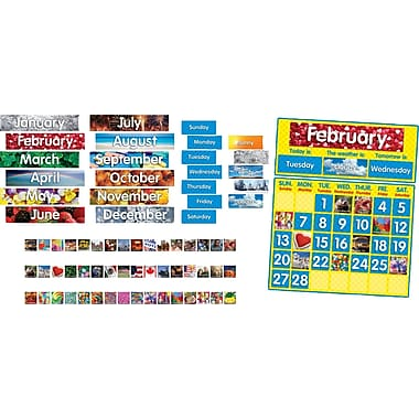 Scholastic Photo Calendar Bulletin Board