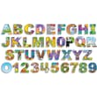 Scholastic Illustrated Alphabet & Numbers Bulletin Board