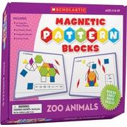 Scholastic Zoo Animals Magnetic Pattern Blocks