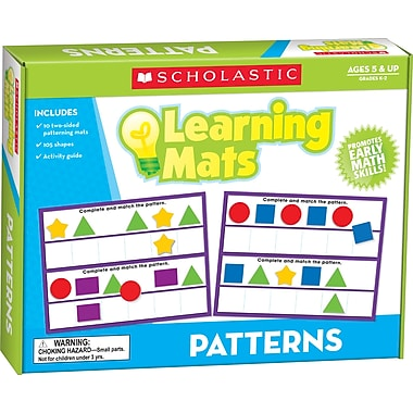 Scholastic Patterns Learning Mats