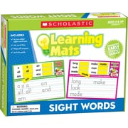 Scholastic Sight Words Learning Mats