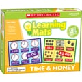 Scholastic Time & Money Learning Mats